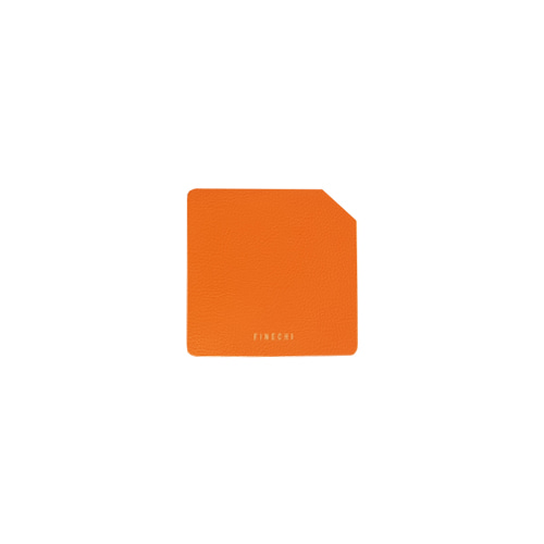 FINECHI CUP MAT (SQUARE) : ORANGE (2 SET)