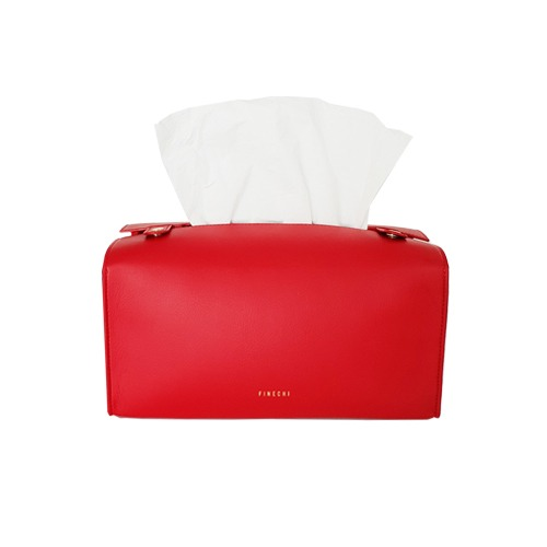 피네치 | FINECHI TISSUE CASE - RED