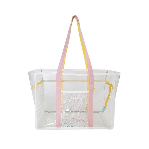 피네치 써머 캔디백 | FINECHI SUMMER CANDY BAG - PINK/YELLOW
