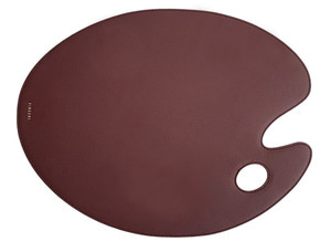 FINECHI TABLE MAT: BURGUNDY
