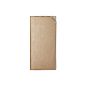 FINECHI PASSPORT CASE LARGE - GOLD