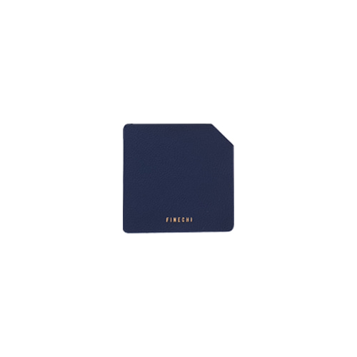 FINECHI CUP MAT (SQUARE) : NAVY (2 SET)