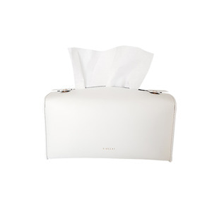 FINECHI TISSUE CASE - WHITE